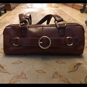 Maroon HOBO Barrel Bag • Brand New